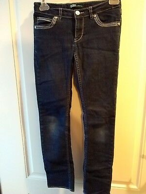 Girls Levis skinny jeans Rhinestone back pockets and embellished front SIZE 10 R