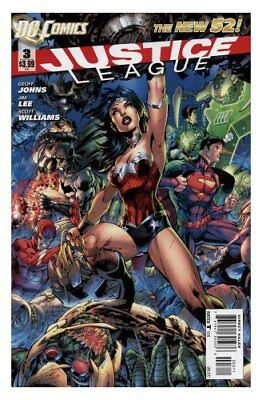 Justice League #3 DC New 52 [2011] Geoff Johns and Jim Lee NM