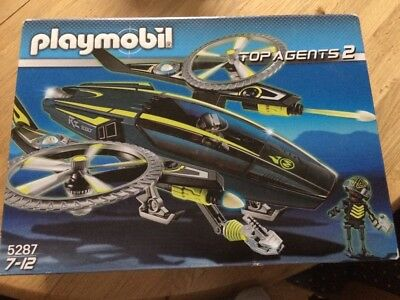 Playmobil Top Agents 2 5287  7-12 Jahre