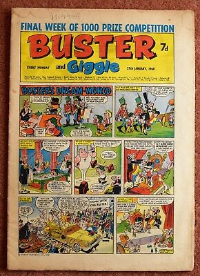 BUSTER - 27th January 1968