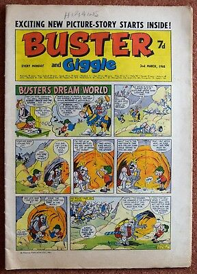 BUSTER - 2nd March1968