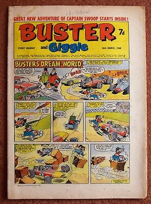 BUSTER - 16th March 1968