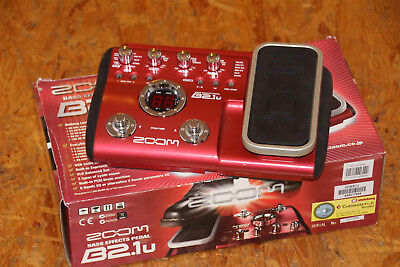Zoom Bass Effects Pedal B 2. U Neuwertig