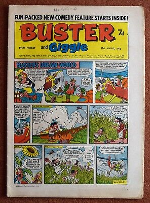BUSTER - 17th August 1968