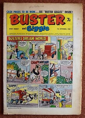 BUSTER - 7th September 1968