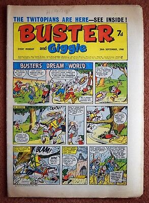 BUSTER - 28th September 1968