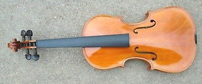 fine  full size 4/4 violin ready to play with minor string set up