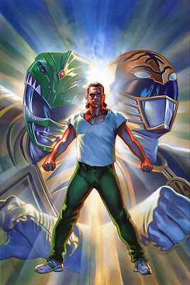 Mighty Morphin Power Rangers #5 Fanboy Film Festival SDCC Comic Book Variant