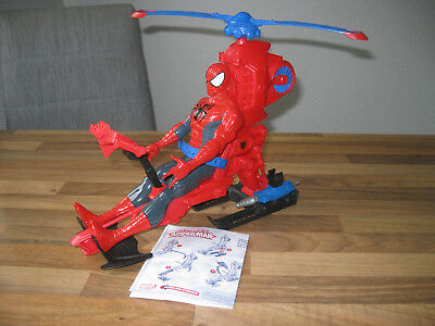 Hasbro A6747E27 Marvel Spider-Man Gigant Action Figur mit SpiderCopter  Top !!!!