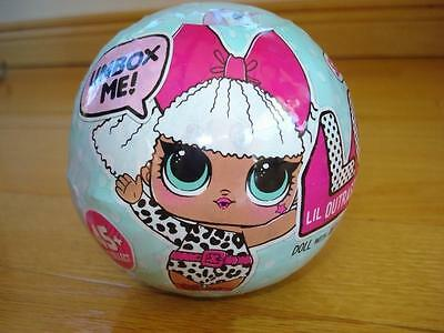 LOL LIL Outrageous Littles Doll Blind Surprise Collectible Series 1 BALL L.O.L !
