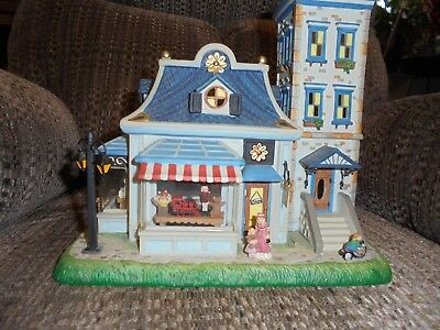 PARTYLITE Olde World Village TOY SHOPPE - Double Tealight House - RETIRED