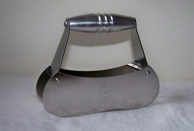 Vtg TRANSCONTINENTAL Mid-Century STAINLESS Airplane Logo MINCER Food Chopper USA