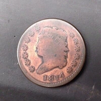 1814 Large Cent Classic Head