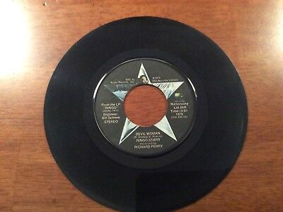 Rings Starr You're Sixteen And Devil Woman 45 Record