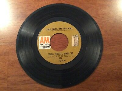 Sergio Mendez & Brazil '66 So Many Stars And The Fool On The Hill 45 Record