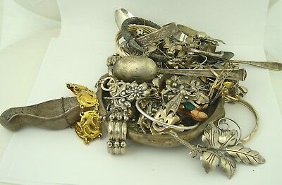 Nice Large Lot 1050 Grams 33.75Ozt Sterling Silver Scrap Resell Lot No Reserve