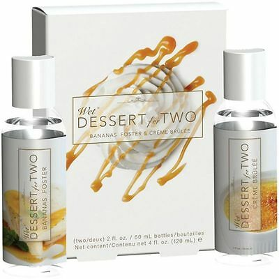 Lubricante Con Sabor Wet - Lubricantes Base Agua Dessert For Two S. Valentin