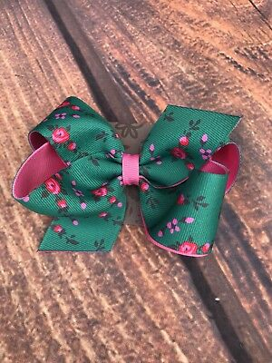 Matilda Jane Green Hair Bow From The Beautiful Baubles Bow Set New