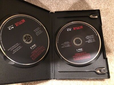 Stranger things season 1 Bluray (2 Blu-ray Disc+Empty Protective Black Case)