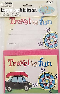 Travel Post Cards & Stationary for Kids 'Keep in Touch Letter Set' by Greenbrier