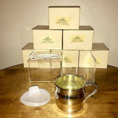 Oneida~Modern Baroque~Child Cup~Sipper Top~Single Handle~Silverplate~New In Box