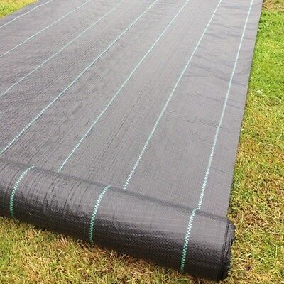 New*^Yuzet 2m x 10m 100g Weed Control Ground Cover Driveway Membrane Fabric