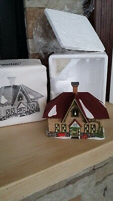 Dept 56 Dickens Heritage Village #56172 Apple Valley School Retired