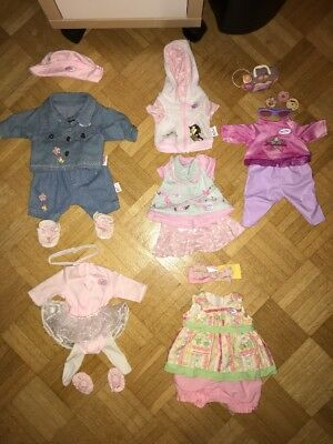 Baby Born 5 Super Outfits TOLL!