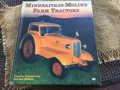 MINNEAPOLIS MOLINE Uni-Harvestor VISIONLINED Tractor FARM MATCH BOOK matchcover