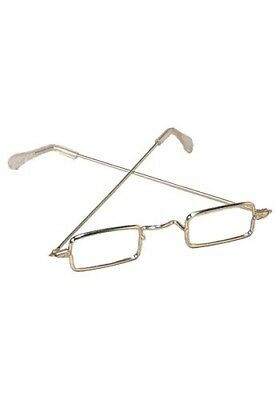 Rectangle Glasses Santa & Mrs. Claus OLD Fashioned Spectacles Franklin steampunk