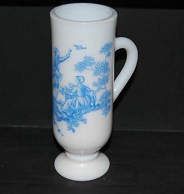 """Vintage Avon Bottle """"Blue Demi Cup""""  - free shipping ALWAYS CLEAN GOOD CONDITION"""