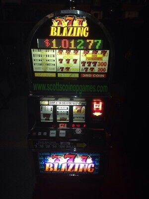 Bally 6000 Blazing 7's SLOT MACHINE