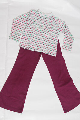 EUC Vintage Health-tex Made in USA Matching Outfit Permanent Press Size 6x