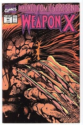 Marvel Comics Presents Weapon X - Issue #84 (Marvel Comics 1991) VF