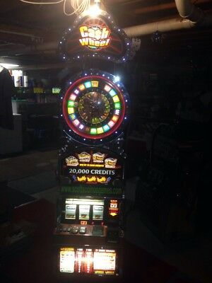 Bally 6000 Cash Wheel Bonus Wheel SLOT MACHINE