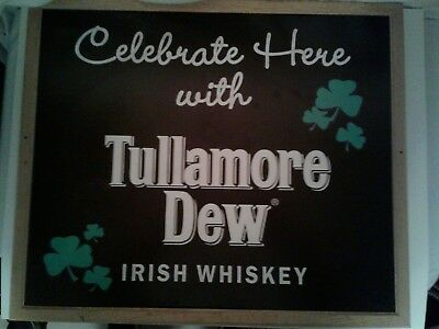 Tullamore Dew Irish Whiskey Sign