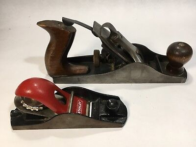 Pair of Planes - antique Parplus and modern Stanley