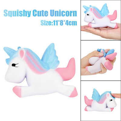 Kawaii Unicorn Squishy Slow Rising Cartoon Doll Cream Scented Decompression Toys
