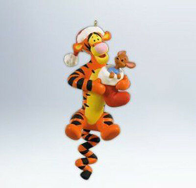 2012 Hallmark BOUNCING THROUGH THE SNOW Ornament TIGGER & ROO