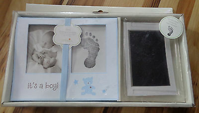 Baby Boy Announcements With Stamping Pad: Makes 12