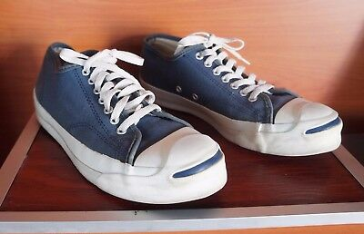 CONVERSE JACK PURCELL VINTAGE MADE IN USA size 9 mens blue