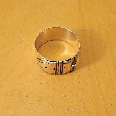 Napkin Ring in a the design of a Buckled Belt
