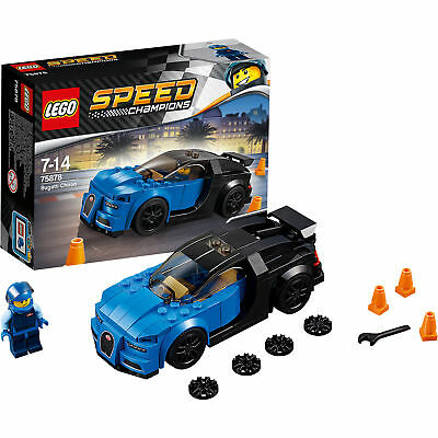 lego 75878 speed champions bugatti chiron mit cockpit race. Black Bedroom Furniture Sets. Home Design Ideas