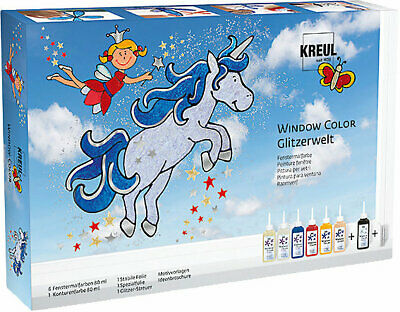Neu C. KREUL Window Color Glitzerwelt 6220731