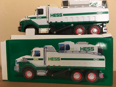 2017 HESS Dump Truck And Loader Toy Gift LIMITED EDITION * Batteries included!