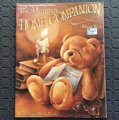 THE PAINTER'S HOME COMPANION Painting Art Designs Craft Book (1989)