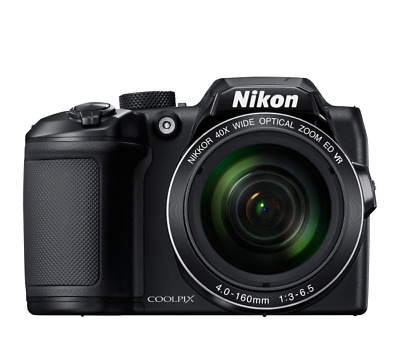 Nikon Coolpix B500 16MP Digital Camera w/ 40x Zoom-NIKKOR ED Lens (Black)