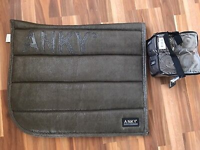 Anky saddle Pad Desert palm Pad And Bandages Dressage New