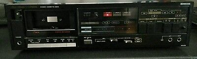 studio standard by fisher cr 273 stereo cassette deck vintage