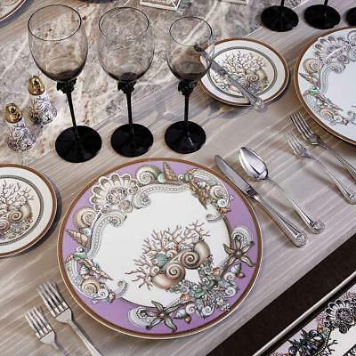 """New 2017   *$4286 VERSACE ROSENTHAL """"LA MER"""" 1 person place setting"""